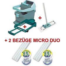 Leifheit Profi Wischtuchpresse Set+2 Bezüge Micro Duo