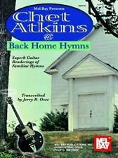 Chet Atkins Plays Back Home Hymns Guitar Tab Book NEW!