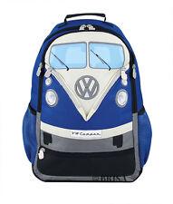 Backpack T1 Camper Van Bus Blue Volkswagen VW Collection by BRISA BUBP02
