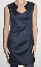Forever 21 Designer Navy Short Length Sleeveless Day Dress Size L BNWT #SK28