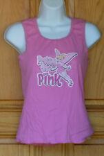 Disney Girls Size L Pink Tinkerbell Tank Top