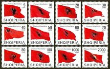 "ALBANIA 2007 - "" FLAGS "" - SET MNH RARE"