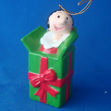Olive Oil in a gift Christmas ornament KFS Popeye the Sailor figurine