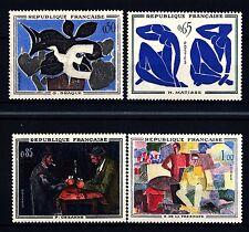 FRANCIA - Quadri di Francia - 1961 - Opere di pittori moderni.