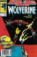 Wolverine Comic Issue 9 Marvel Presents Copper Age First Print 1988 Claremont