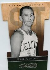 Bob Cousy 2013-14 Panini Timeless Treasures Die-Cut Puzzle Piece 2B Boston