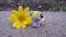 Littlest Pet Shop (LPS) Tiny Baby Green and Purple Inchworm Authentic