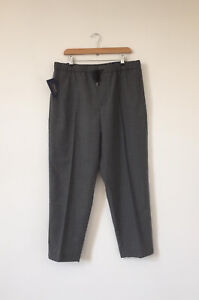 NEW Polo Ralph Lauren Grey Relaxed Fit Trousers Drawstring Size Large