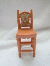 FISHER PRICE Loving Family Dollhouse KITCHEN BAR COUNTER STOOL ~ Tall Chair