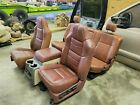 2008-2010 Ford King Ranch Front Rear Seat Leather