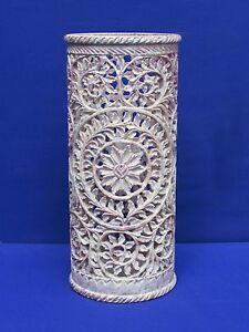 Marble Vase handmade Grill Work art Flower Pot Home decorative Gifts Arts Craft