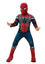 * Kid'S Marvel Infinity War Deluxe Iron Spiderman Costume Small 4-6 (No Mask)