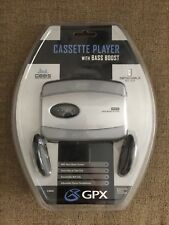 Gpx C3023 Cassette Player Headphone Detachable BeltClip New Get 2 For Price Of 1