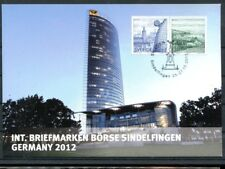 Schweden Gedenkkarte zur Briefmarkenbörse Sindelfingen 2012