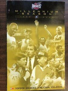 NBA BASKETBALL ROCKETS MILLENNIUM SEASON 1999-2000 EXCELLENT CONDITION