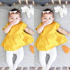 Toddler Infant Kids Baby Girl Summer Dresses Princess Party Wedding Tutu Dress