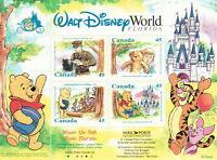 Canada #1621b 45¢ Winnie the Pooh Souvenir Sheet MNH