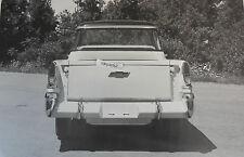 "1958 Chevrolet Cameo rear view 12 X 18"" Black & White Picture"