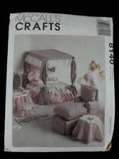 Barbie Furniture McCalls 8140 Craft Sewing Pattern Uncut Factory Fold