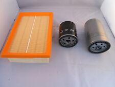 Fiat Stilo 1.9 JTD Diesel Service Kit Oil + Air + Fuel Filter 2001-2002 80,115HP