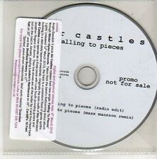 (CU384) Air Castles, Falling to Pieces - 2012 DJ CD