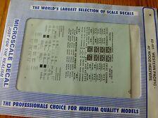 Microscale Decal N  #60-491 PFE-Refrigerator Car -WP Wood - 40'