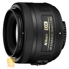 NEW BOXED NIKON AF-S NIKKOR DX 35mm F/1.8 G LENS 4 D3200 D5100 D7000
