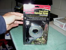CAMOUFLAGE TREE STAND RATCHET STRAP, NEW IN PKG.  98373
