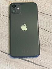 Apple iPhone 11 Schwarz Backcover,Rahmen,Gehäusel,Rückseite VORMONTIERT