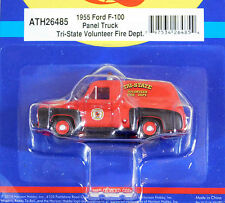 Athearn 1/87 HO 1955 Ford F-100 Panel Truck Tri-State Voulnteer Fire Dept 26485
