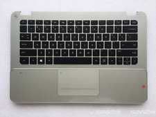 New for HP Envy 14-3000 Spectre Palmrest w/TouchPad Keyboard 698632-001