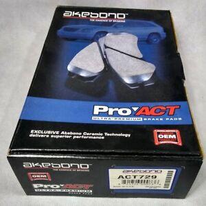 ACT729 Pro Act Brake Pad Set No Hardware
