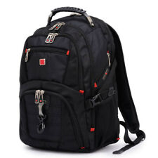 Men Swiss gear Waterproof Travel Laptop Backpack Computer Notebook School Bag