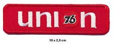76 UNION Aufnäher Aufbügler Patches Motorsport Rennsport Oil Gasoline USA