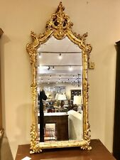 Labarge Rococ Style Gilt Mirror (No Label) Great Overall Condition