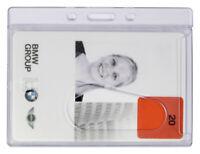 Ausweishalter Zeitkartenhalter NEU Kartenhülle Mitarbeiterausweis Card Dispenser