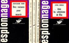 Lot de 5 titres // Le Masque // Collection EXBRAYAT // Policiers // 1ère édition