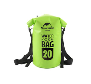 Dry Bag Waterproof 20L for Sports Electronic – Green