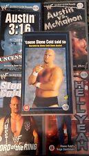 WWE 5-pack Attitude Era Austin-Pack Orig 5 VHS-Set WWF Wrestling