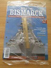 """Hachette """"construir el Bismarck"""" modelo de piezas e instuction revista número 52"""