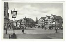 AK Ansichtskarte Postkarte Soest Marktplatz ungebraucht schwarz weiß