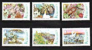 Alderney Stamps 2007 SG A309-A314 Burhou Islands and Ransar Site  Mint MNH