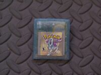 Pokemon Crystal Version ( Game Boy Color GBC) With New Save Battery