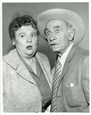 MADGE BLAKE ANDY CLYDE PORTRAIT THE REAL MCCOYS ORIGINAL 1960 ABC TV PHOTO