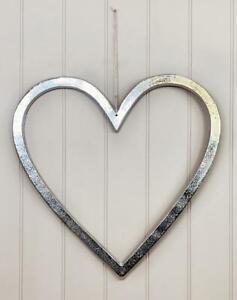 Aluminium Wall Hanging Heart Art Decor Home Love Romantic Ornament