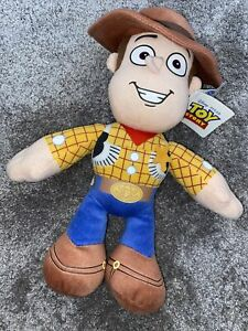 WOODY TOY STORY PLUSH DISNEY STORE EXCLUSIVE NEW 12 Inch Plush Large Sheriff Toy