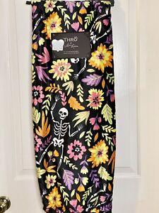 Skeleton Día de Los Muertos Halloween Decor Throw Plush Blanket 50X70 NWT 🌹💀🌹