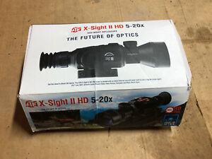 ATN X-Sight II HD 5-20X Scope - Day And Night Vision