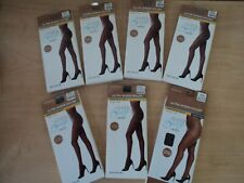 Sheer Breeze Pantyhose Queen Size Lot of 7 Black Suntan New For Darker Skin Tone
