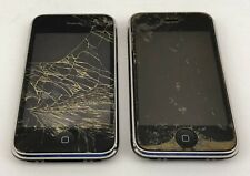 Lot of 2 Apple iPhone 3G 8GB Black A1241 Parts Only Untested